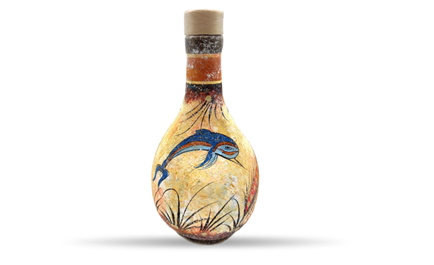 Olive Oil in Ceramic Bottle Pitarokoilis Family