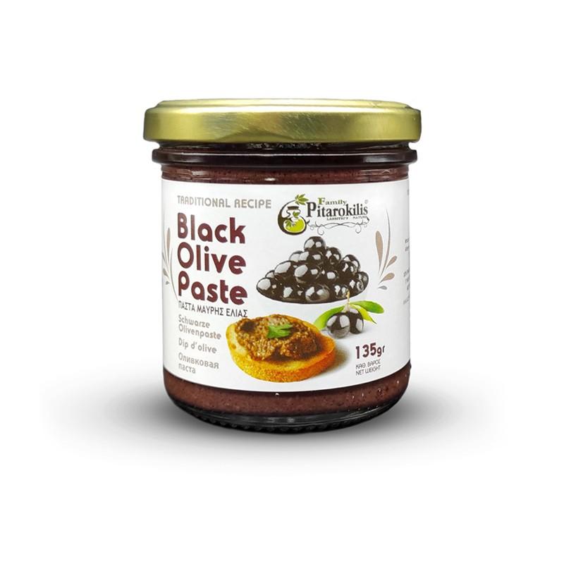 Black Olive Paste Jar Pitarokoilis Family