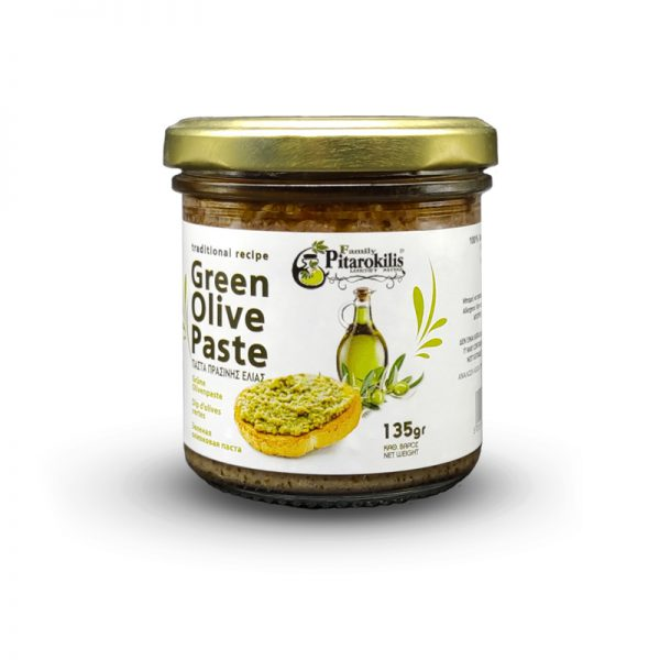 Green olive paste Pitarokoilis Family