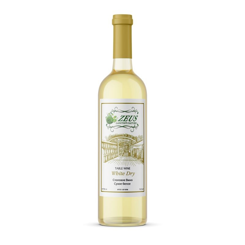 Cretan Dry White Wine