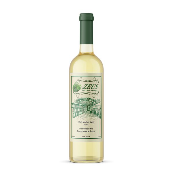 Cretan White Medium Sweet Wine