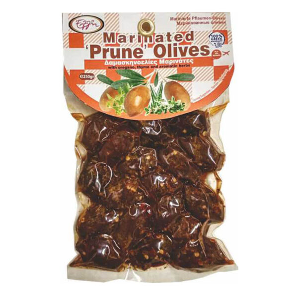 Marinated Prune Olives