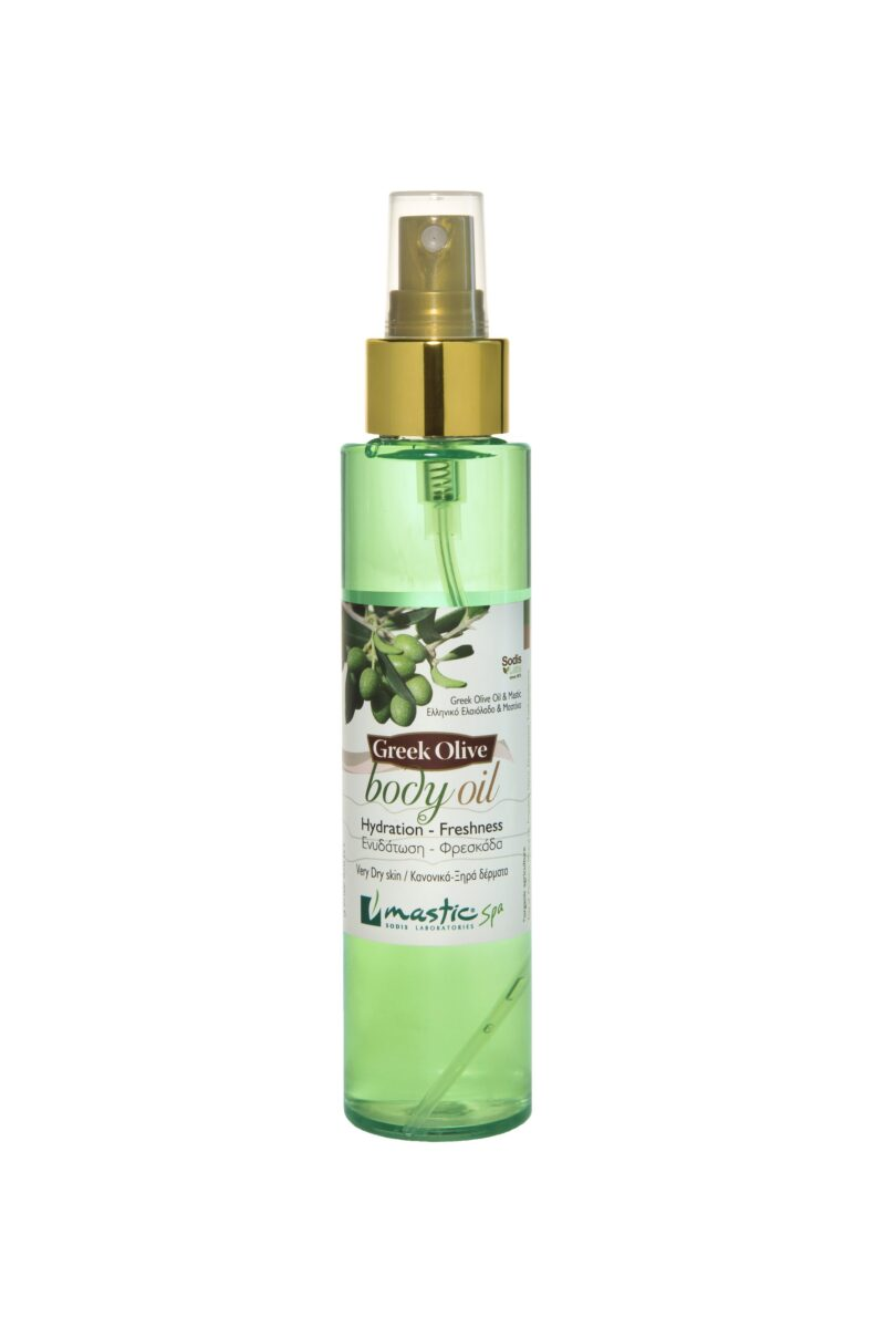 body oil with olive oil