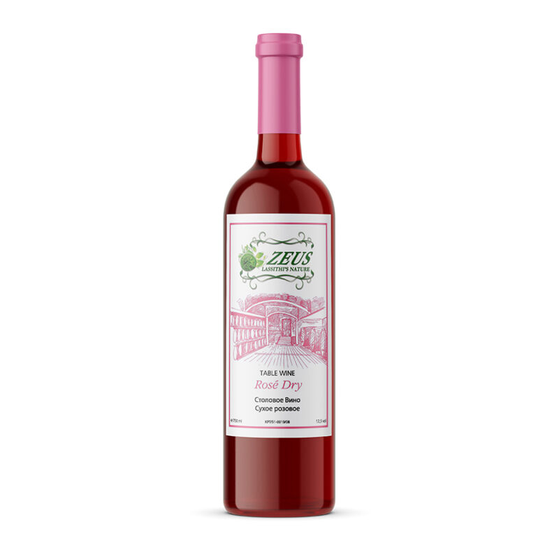 Cretan Rose Dry Wine